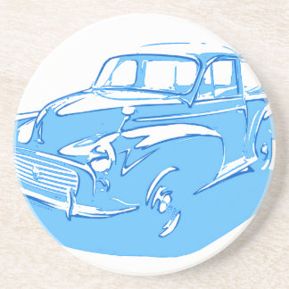 classic car drink coasters