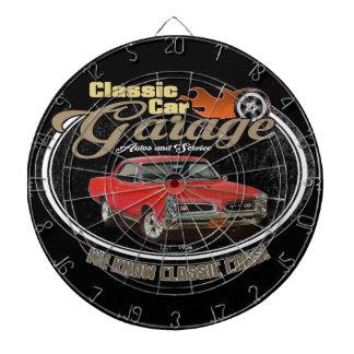 Classic Car GTO Garage Dartboard