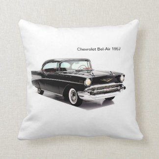 Classic car image for Polyester Throw Pillow