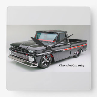 Classic car image for Square-Wall-Clock Wallclock