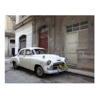 Classic car in Havana Cuba Postcard