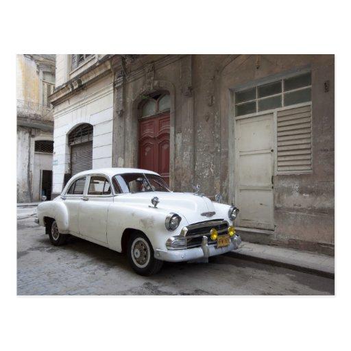 Classic car in Havana Cuba Postcards