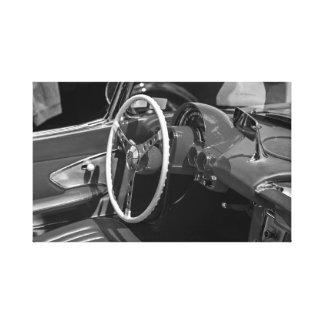 """""""Classic car interior"""" canvas prints"""