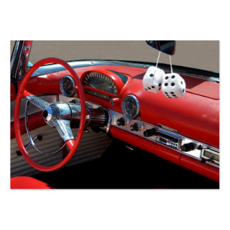 Classic Car Interior Pack Of Chubby Business Cards