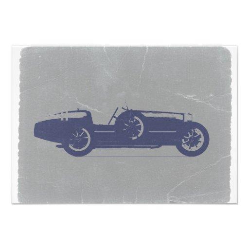 Classic car invites