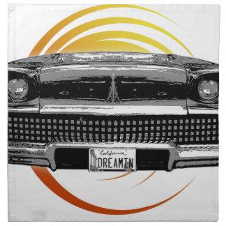 Classic Car Napkin