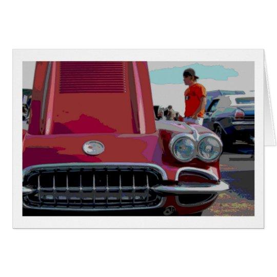 Classic Car Note Card