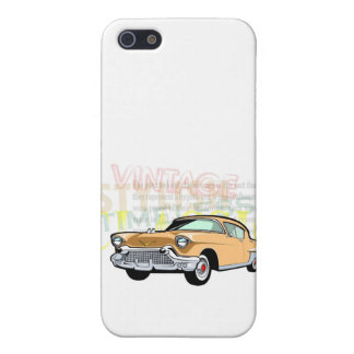 Classic car, old Chevrolet Bel Air in brown Cover For iPhone 5/5S