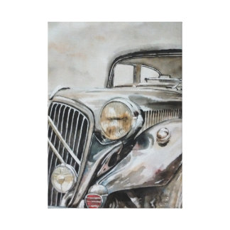 Classic Car - Old Girl Canvas Print