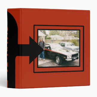 Classic Car Photo Keepsake Book Binder
