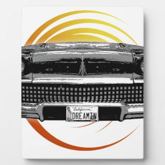 Classic Car Plaque