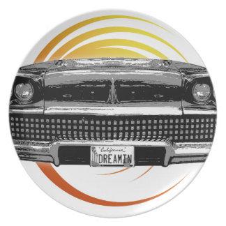 Classic Car Plate