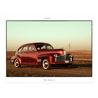 Classic Car Postcard: Pontiac Streamliner '41 Postcard