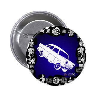 CLASSIC CAR PRODUCTS PINBACK BUTTONS
