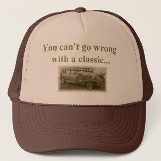 classic car trucker hat