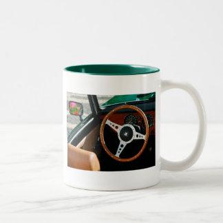 Classic car Two-Tone coffee mug