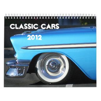 Classic Cars 2012 Calendar