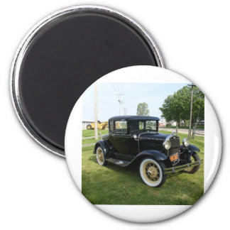 Classic Cars 2 Inch Round Magnet