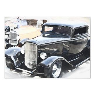 Classic Cars Birthday Card