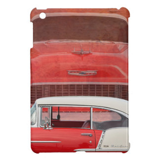 Classic Cars Chevy Bel Air Dodge Red White Vintage iPad Mini Case