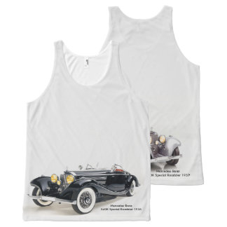 Classic cars image All-Over-Printed-Unisex-Vest