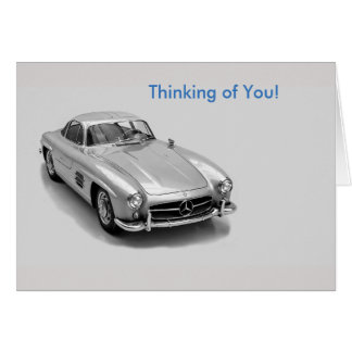 Classic Cars image for Get Well Greeting card