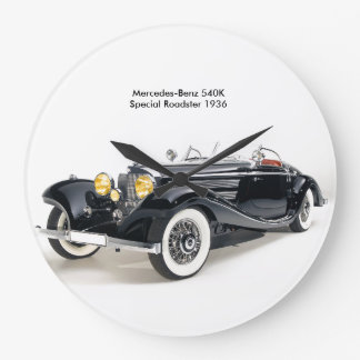 Classic cars image for Round-Large-Wall-Clock Wallclock