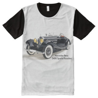 Classic cars Men's-All-Over-Printed-Panel-T-Shirt