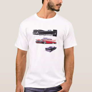 Classic Cars, Plymouth Fury 1958/1959 Cadillac T-Shirt