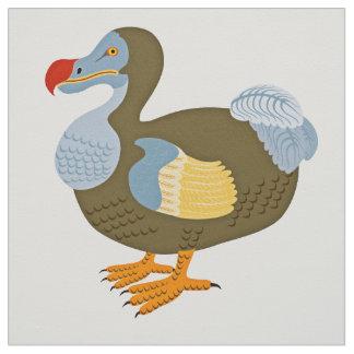 Classic Cartoon Dodo Bird Fabric