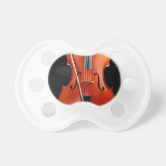 Classic cello on black pacifiers