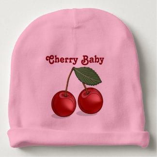 Classic Cherry Baby Customizable Pink Beanie Baby Beanie