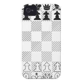 Classic chess board Case-Mate iPhone 4 case