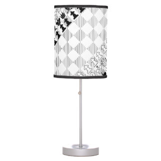 Classic chess board table lamps