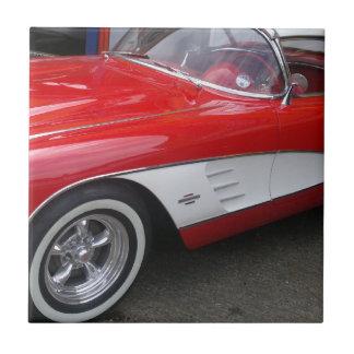 Classic Chevrolet Corvette Tile