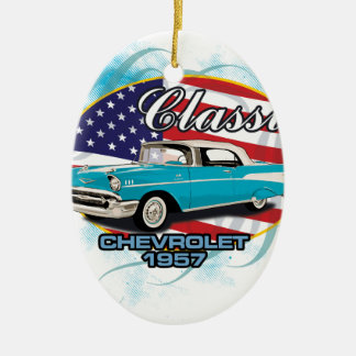 Classic-Chevrolet-oval-1957-new_B.png Ceramic Oval Ornament