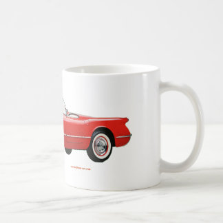 Classic_Chevrolet_Red_Corvette Coffee Mug
