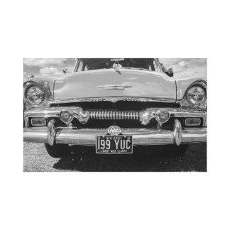 """Classic Chevvy car"" canvas prints/wall art"