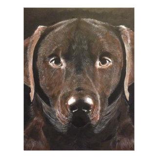 Classic Chocolate Labrador Letterhead
