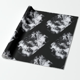 Classic Christmas in black and white Wrapping Paper