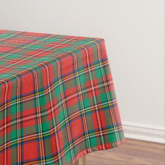 Classic Christmas Plaid Tablecloth