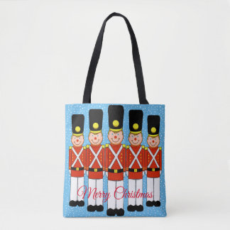 Classic Christmas Soldiers Tote Bag