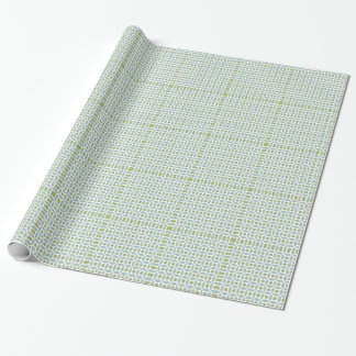 Classic Circle and Square Pattern Wrapping Paper