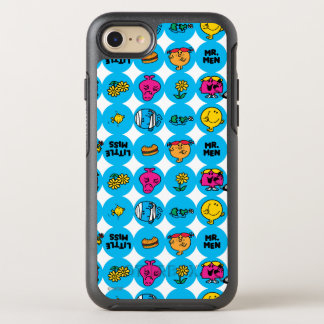 Classic Circles Pattern OtterBox Symmetry iPhone 8/7 Case
