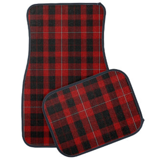 Classic Clan Cunningham Tartan Plaid Car Mat Set