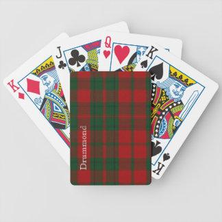 Classic Clan Drummond Tartan Plaid Playing Cards