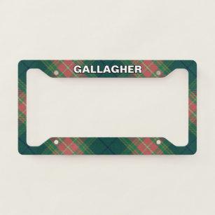 Scotland Clan Carnegie Tartan Crest Novelty License Plate