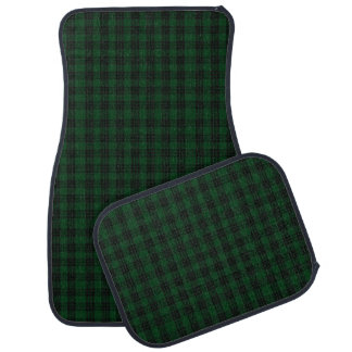 Classic Clan Graham Tartan Plaid Car Mat Set