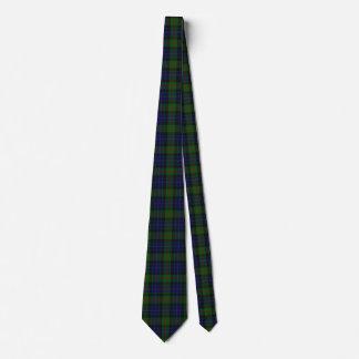 Classic Clan Gunn Tartan Plaid Neck Tie
