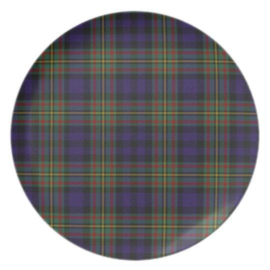 Classic Clan MacLellan Tartan Plaid Plate